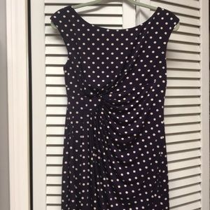 Adorable polka dot dress!